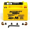 MotoBatt 12V 8.6AH MBTZ10S Battery Upgrade Replaces YTX7A-BS YTZ10S