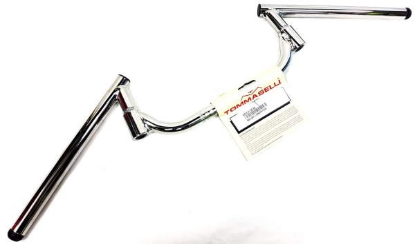 Tommaselli Chrome Sport Condor Adjustable Ace Cafe Bars 7/8 Handlebars 28.5 Wide