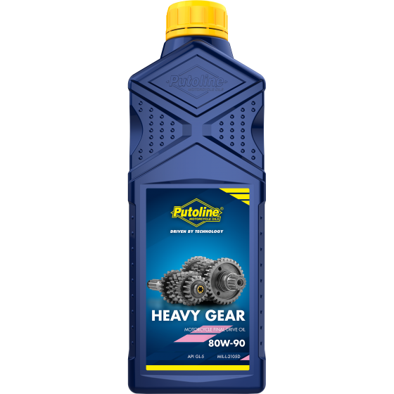 Putoline Heavy Gear SAE 80W 90W Motorcycle Gear Box Transmission Oil 1 Litre