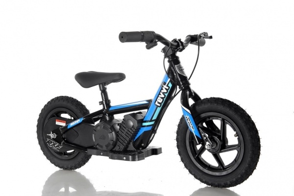 Revvi 12'' Kids Electric Balance / Off Road Bike In Blue
