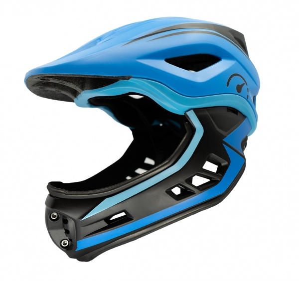 Revvi Super Lightweight Helmet 250g - 395g Adjustable 48cm - 53cm EN1078 Blue