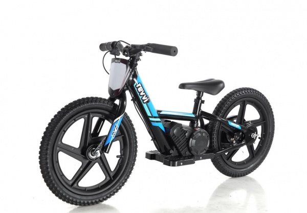 Revvi 16'' Kids Electric Balance / Off Road Bike In Blue