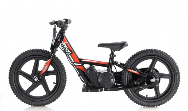 Revvi 16'' Kids Electric Balance / Off Road Bike In Red