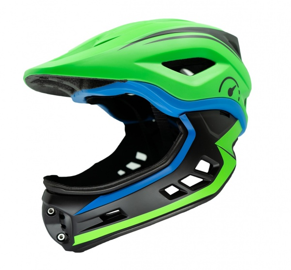 Revvi Super Lightweight Helmet 250g - 395g Adjustable 48cm - 53cm EN1078 Green
