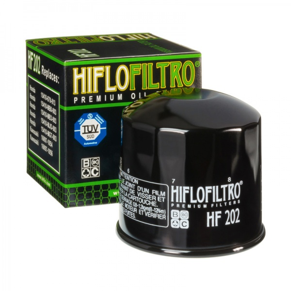 HIFLO HF202 Oil Filter Fits Many Honda - Kawasaki - Motorcycles