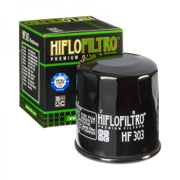 HIFLO HF303 Oil Filter Fits Many Honda - Kawasaki - Yamaha Motorcycles