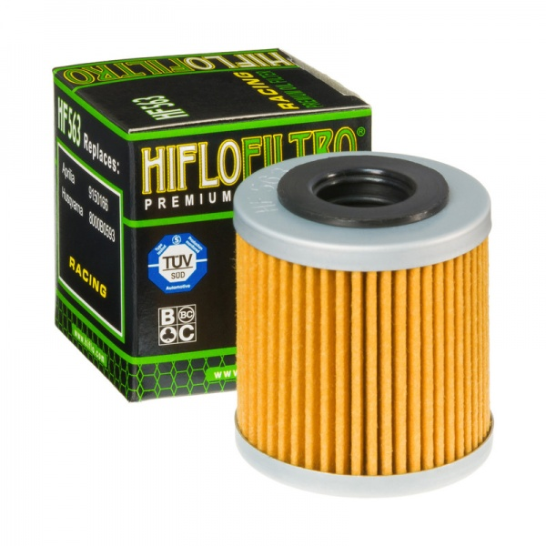HIFLO HF563 Oil Filter Aprilia - Derbi - Husqvarna (Full Model Range In Listing)