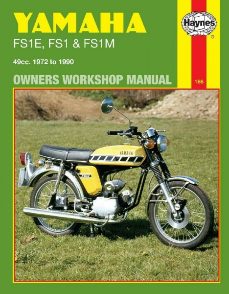 Haynes Workshop Manual 0166 - Yamaha FS1E FS1 FS1M All Models 1972 to 1990