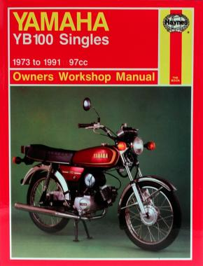Haynes Workshop Manual 0474 - Yamaha YB100 1973 to 1991