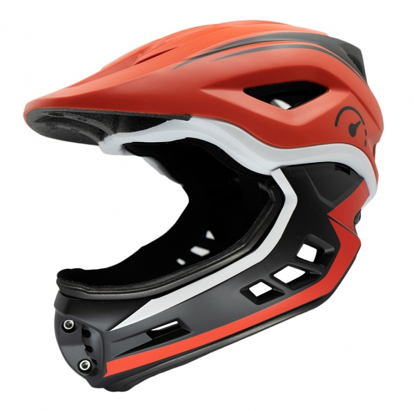 Revvi Super Lightweight Helmet 250g - 395g Adjustable 48cm - 53cm EN1078 Red