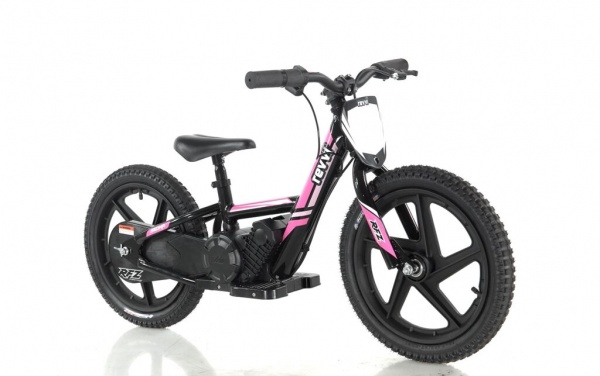 Revvi 16'' Kids Electric Balance / Off Road Bike In Pink