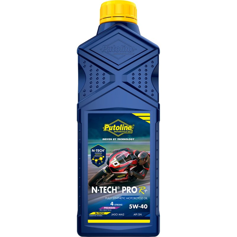Putoline N-Tech Pro R+ 5w40 5W-40 Fully Synthetic Motorcycle Engine Oil 1 Litre