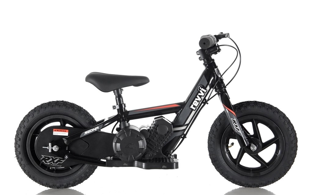 Revvi 12'' Kids Electric Balance / Off Road Bike In Black