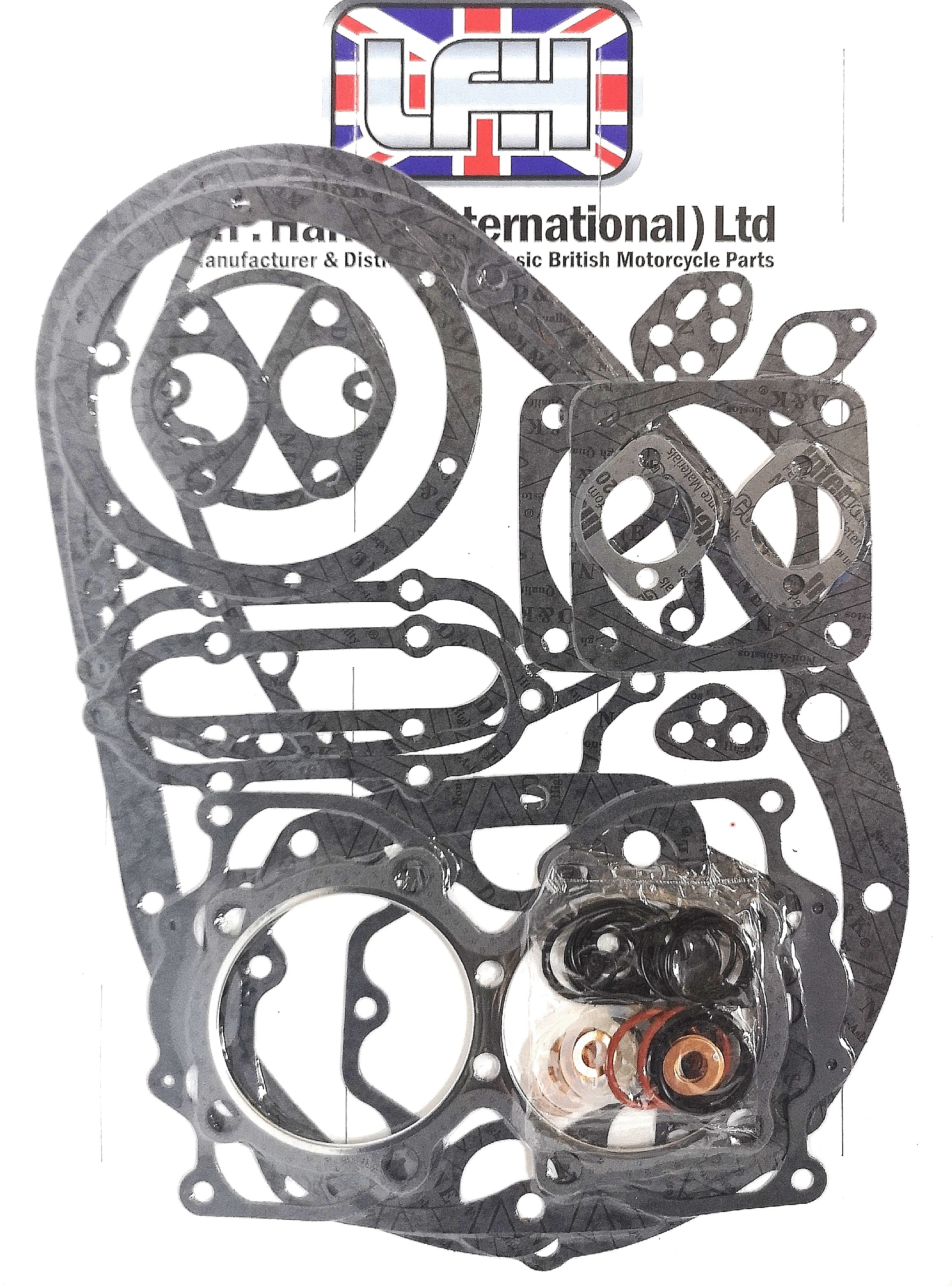 Triumph 750cc T140 Bonneville TR7 Tiger 1973 -1983 Engine Gasket Set UK 99-7002