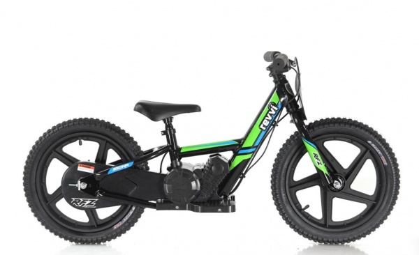 Revvi 16'' Kids Electric Balance / Off Road Bike In Green